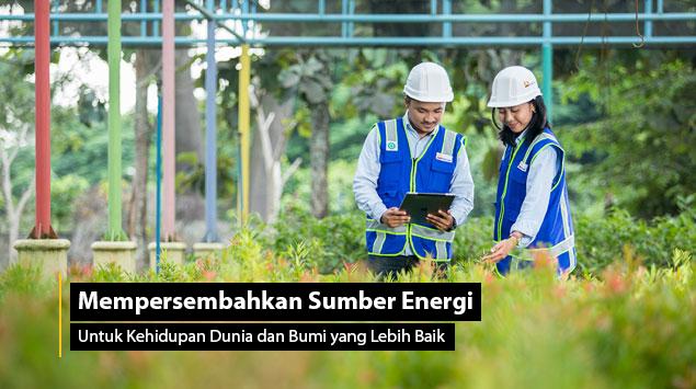 Mempersembahkan Sumber Energi