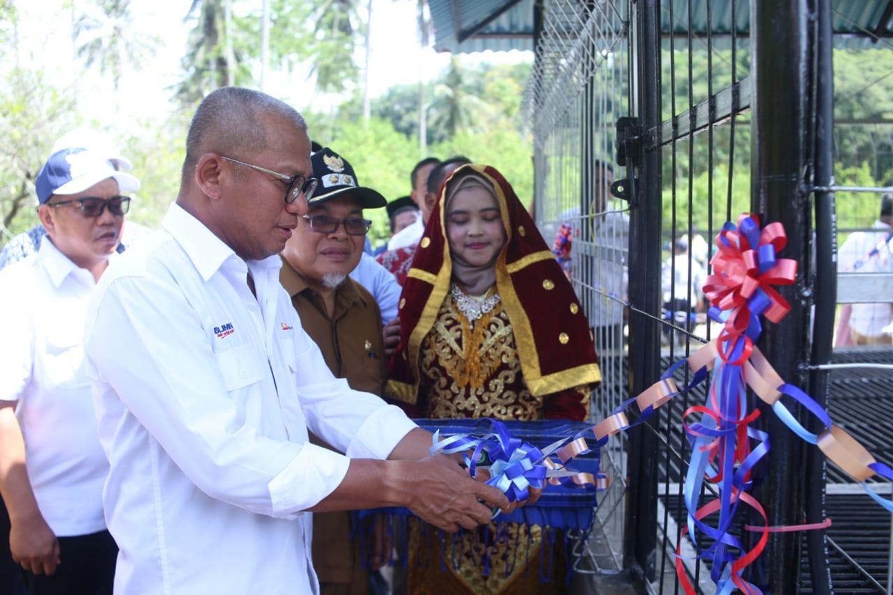 Dorong Perekonomian Warga, Bukit Asam Salurkan Bantuan  di Sumatera Barat
