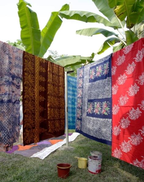Sentra Industri Bukit Asam (SIBA) Batik Kujur